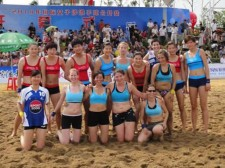 10-08-10 Beach Handball Tournament - Liu An